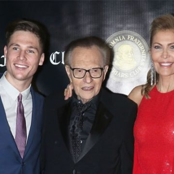 Meet Chance Armstrong King – Photos Of Larry King's Son With Ex-Wife Shawn King
