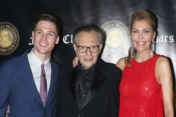 Chance Armstrong King's father Larry King