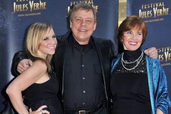 Chelsea Hamill Parents Mark Hamill and Marilou York