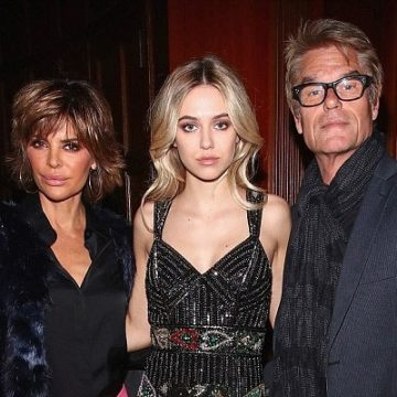 Harry Hamlin's Daughter Delilah Belle Hamlin With Wife Lisa Rinna