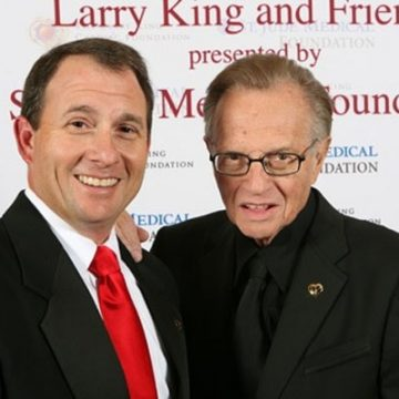 Here Is What You Should Know About Larry King's Son Larry King Jr.