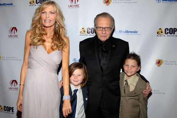 Larry King's Children Chance Armstrong King