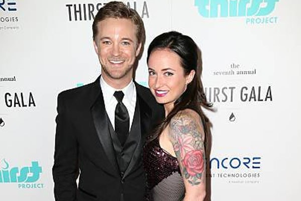 Michael Welch and ex-wife Marissa Lefton