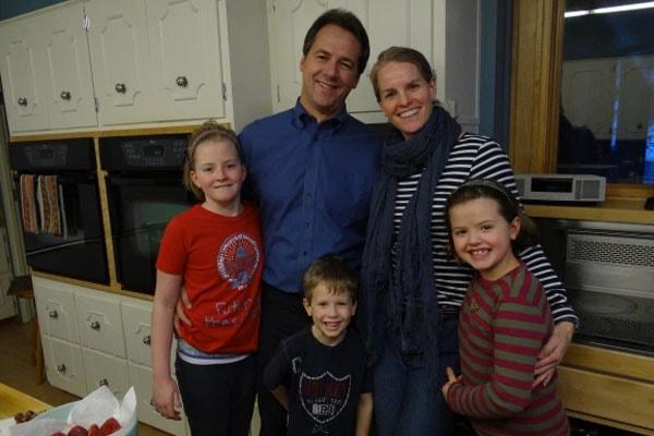 Steve Bullock three children