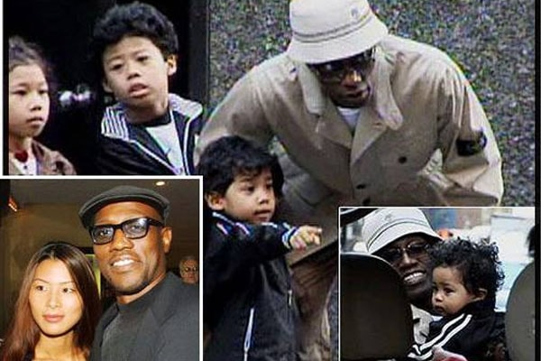 Wesley Snipes' Children Alimayu Moa-T Snipes
