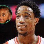 DeMar DeRozan's with his daughter Diar DeRozan
