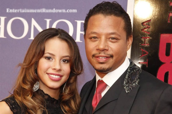 Aubrey Howard's father Terrence Howard