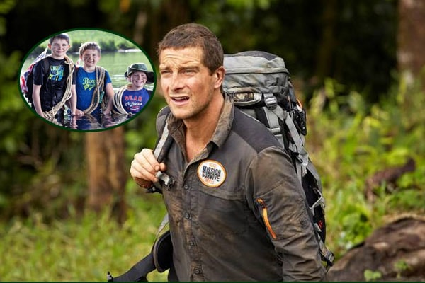Bear Grylls' son Huckleberry Edward Jocelyne Grylls