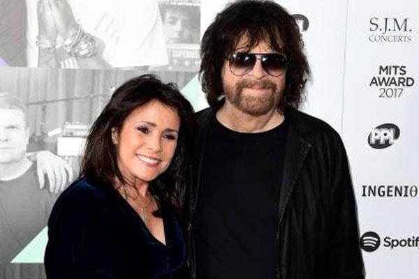 Camelia Kath's partner Jeff Lynne