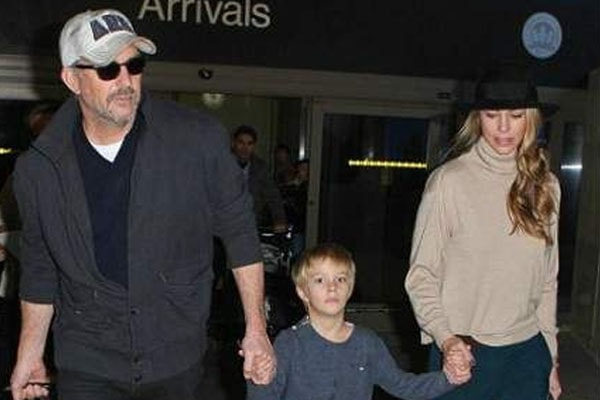 Cayden Wyatt Costner's parents Kevin Costner and Christine Baumgartner