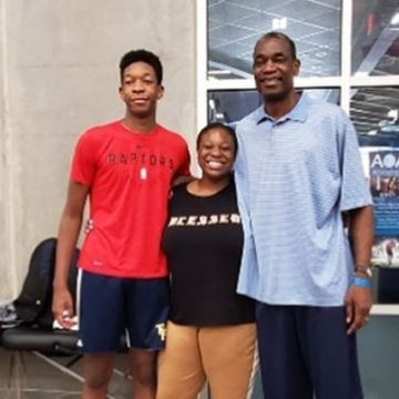 Meet Ryan Mutombo – Photos Of Dikembe Mutombo's Son