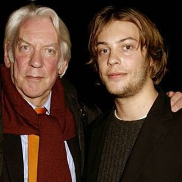 Meet Angus Sutherland – Photos Of Donald Sutherland's Son With Wife Francine Racette