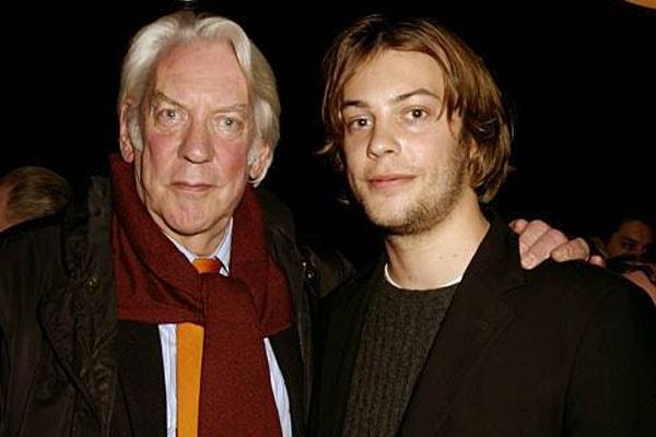 Donald Sutherland's son Angus Sutherland