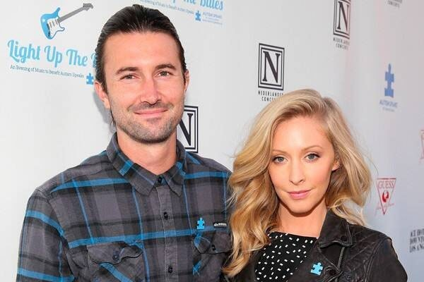 Brandon Jenner and his ex-wife Leah Felder