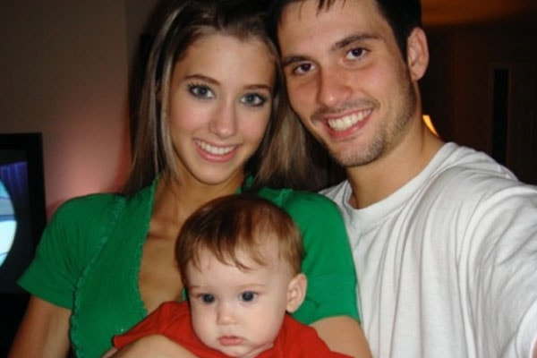 Roman Serfaty with his parents Ididia Serfaty and Jessica Serfaty