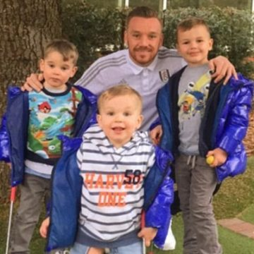 English Footballer Jamie O'Hara Is A Father Of Three Children