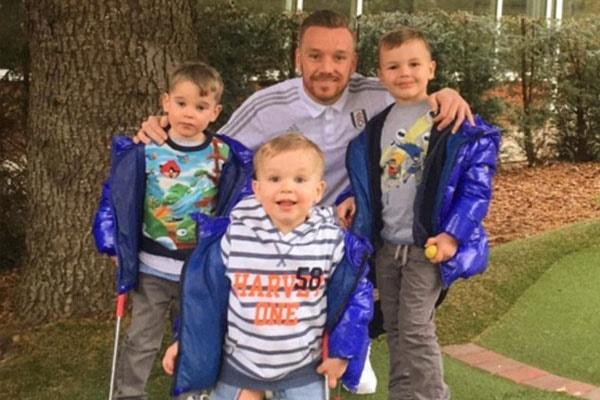 Jamie O'Hara father of three children, Harry James O'Hara, Archie O'Hara, and George O'Hara