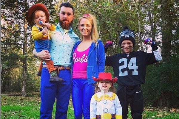 Jayde Carter McKinney's parents, Maci Bookout and Taylor McKinney and siblings, Maverick McKinney and Bentley Edwards
