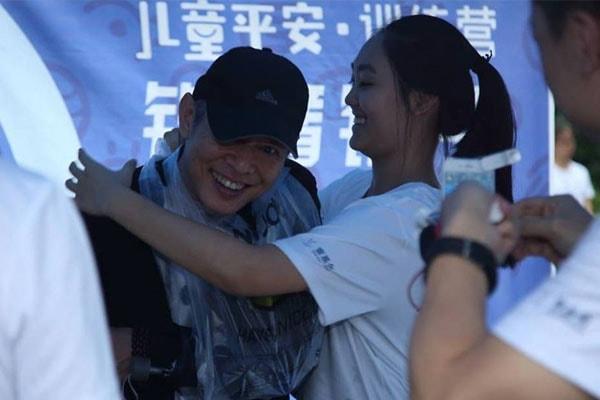 Jet Li's daughterJane Li charity work