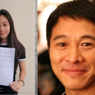 Meet Jada Li – Photos Of Jet Li's Daughter With Wife Nina Li Chi