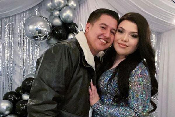 Karina Garica and Raul Aguilar
