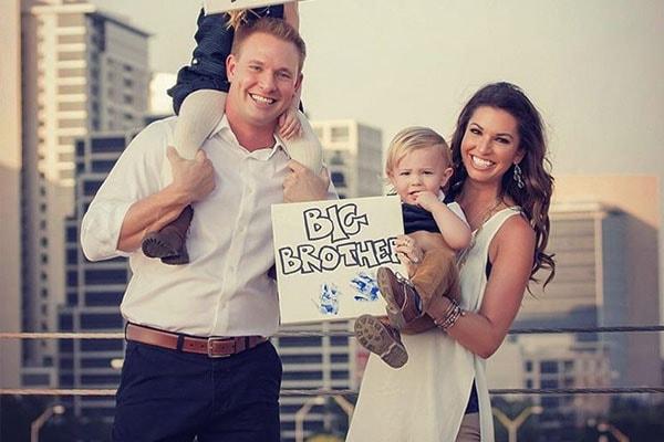 Melissa Rycroft's children Beckett Thomas Strickland