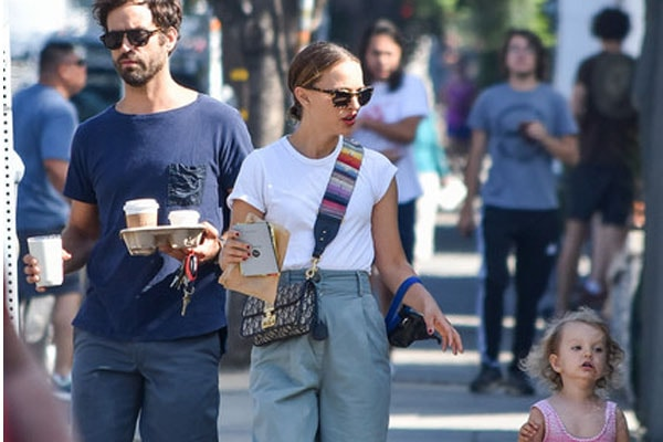 Natalie Portman's daughter Amalia Millepied