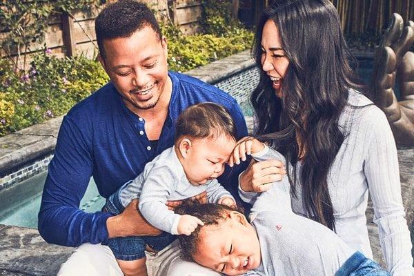 Qirin Love Howard's Parents Terrence Howard andMirandaPak