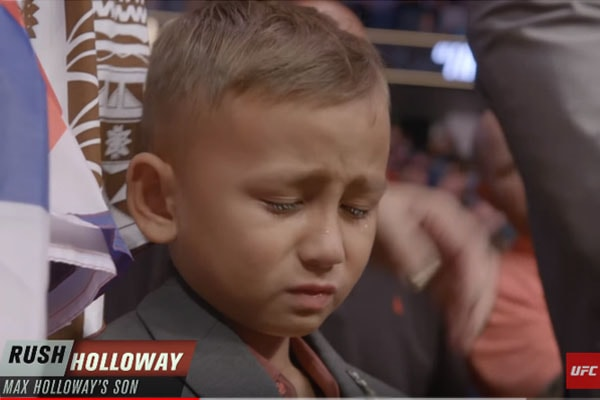 Rush Holloway's father Max Holloway