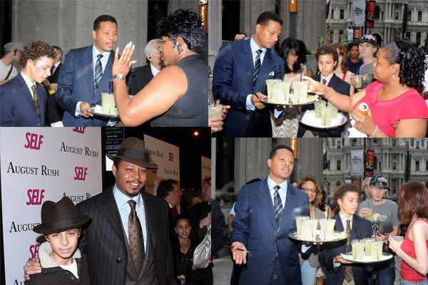 Terrence Howard's son Hunter Howard charity