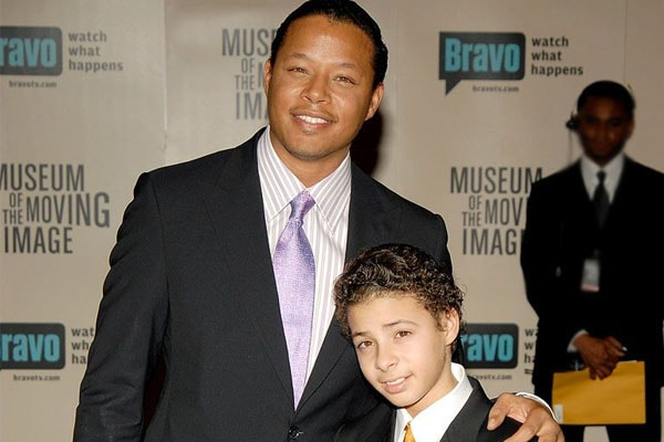 Terrence Howard's son Hunter Howard