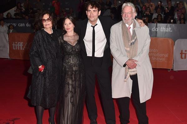 Theodore Sutherland's family actors