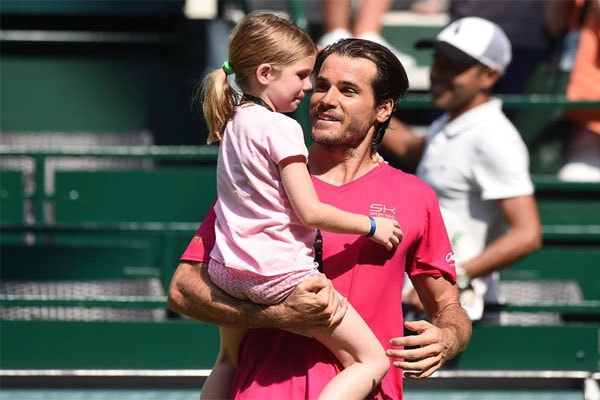 Tommy Haas's daughter Valentina Haas