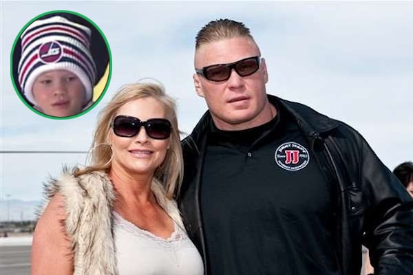 Brock's elder son Turk Lesnar from his wife Sable