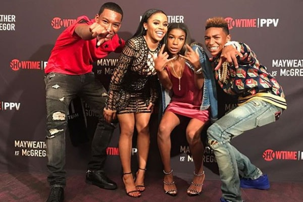 Zion Mayweather's all siblings