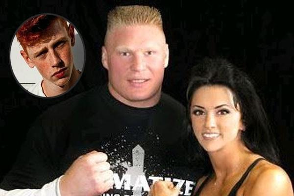 Brock Lesnar's son Luke Lesnar and wife Nicole McClain