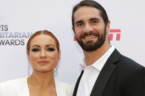 WWE pair Seth Rollins and Becky Lynch
