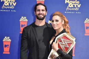 Set Rollins and Becky Lynch