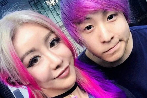 Wengie and her soon to be husband Maxmello