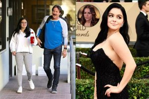 Ariel Winter's parents, Glenn Workman, and Crystal Workman