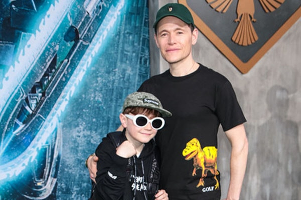 Burn Gorman's son Max Hugh Gorman