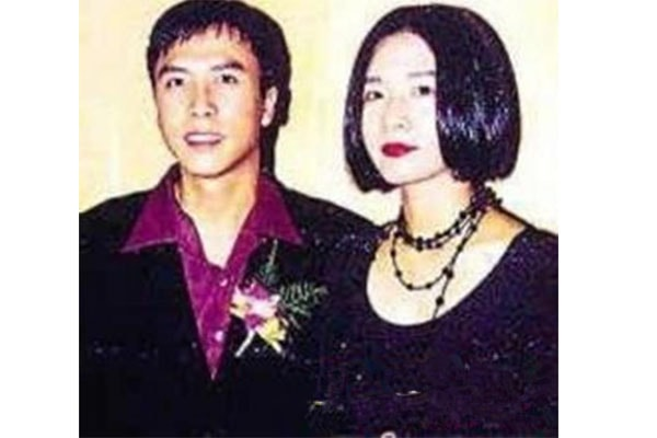 Donnie Yen's former wife Zing-Ci Leung