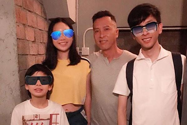 Donnie Yen's son Man-Zeok Yen