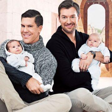 Meet Fredrik Eklund Jr. and Milla Eklund – Photos of Fredrik Eklund and Partner Derek Kaplan's Twins