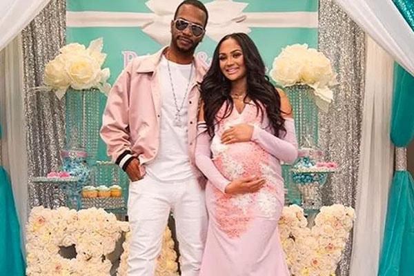 Juicy J's daughter Kamai Houston baby shower