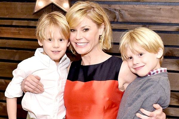 Julie Bowen's twin sons, Gustav Phillips and John Phillips