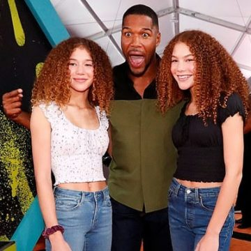 Meet Sophia Strahan And Isabella Strahan – Photos Of Michael Strahan's Twin Daughter With Ex-Wife Jean Muggli