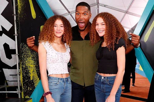 Michael Strahan's twin daughters Sophia Strahan and Isabella Strahan