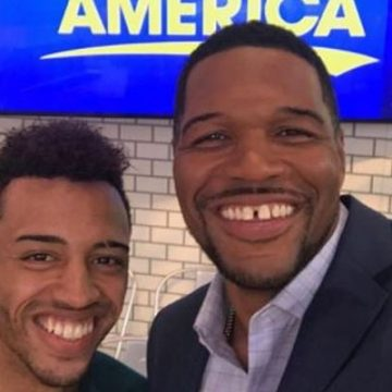 Meet Michael Strahan Jr.  – Photos Of Michael Strahan's Son With Ex-Wife Wanda Hutchins