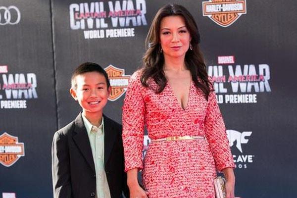 Ming-Na Wen's son Cooper Dominic Zee